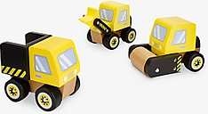 John Lewis & Partners Wooden Construction Trucks
