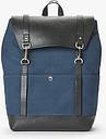 John Lewis & Partners Dublin Cotton Canvas Backpack