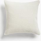John Lewis & Partners Wool Blend Boucle Cushion, Marshmallow