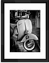 Vespa II - Framed Print & Mount, 55.5 x 45.5cm