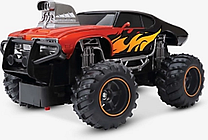 New Bright Radio-Controlled 1:24 Blue Mega Muscle Truck