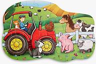 John Lewis & Partners Tractor Floor Puzzle