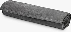 Gaiam Grippy Yoga Mat Towel, Citron/Storm