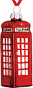 John Lewis & Partners Tourism Telephone Box Bauble