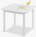 Great Little Trading Co Little Bo Peep Toddler Table, White