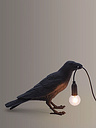 Seletti Waiting Bird Table Lamp