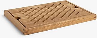 John Lewis & Partners Oak Wood Bread Board, L42cm, Natural