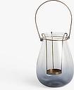 John Lewis & Partners Croft Outdoor Lantern Candle Holder, H19 cm