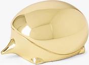 John Lewis & Partners Brass Hedgehog Paperweight