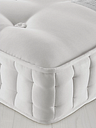 John Lewis & Partners Natural Collection Fleece Wool 8400, Small Double, Medium Tension Pocket Spring Mattress