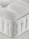 John Lewis & Partners Natural Collection Swaledale Wool 11400, Double, Firm Tension Pocket Spring Mattress