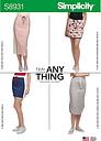 Simplicity Women's Skirt Sewing Pattern, 8931