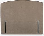John Lewis & Partners Grace Full Depth Upholstered Headboard, Small Double