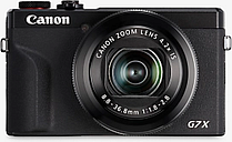 Canon PowerShot G7 X Mark III Digital Camera, 4K Ultra HD, 20.1MP, 4.2x Optical Zoom, Wi-Fi, Bluetooth, 3 Tilting Touch Screen