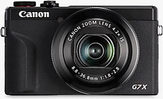 Canon PowerShot G7 X Mark III Digital Camera, 4K Ultra HD, 20.1MP, 4.2x Optical Zoom, Wi-Fi, Bluetooth, 3 Tilting Touch Screen