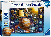Ravensburger The Planets XXL Puzzle, 100 Pieces