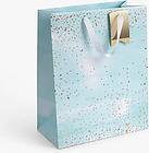 John Lewis & Partners Speckle Gift Bag