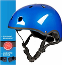 Micro Deluxe Scooter Helmet, Blue, Small