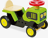 Vilac Wooden Ride On Tractor Toy
