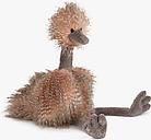 Jellycat Odette Ostrich Soft Toy, Big