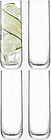 LSA International Borough Highball Glasses, Set of 4, 420ml, Clear