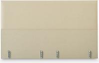 Vispring Hebe Full Depth Upholstered Headboard, Super King Size, Gem Cream, FSC-Certified (Chipboard)