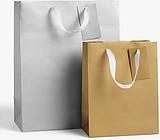 John Lewis & Partners Metallic Gift Bag