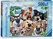 Ravensburger Selfies: Dogs' Delight Jigsaw Puzzle, 500 Pieces