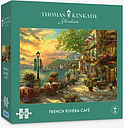 Gibsons French Riviera Cafe Jigsaw Puzzle, 1000 Pieces