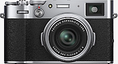 Fujifilm X100V Digital Compact Camera with 23mm Lens, 4K Ultra HD, 26.1MP, Wi-Fi, Bluetooth, Hybrid EVF/OVF, 3 Tiltable Touch Screen