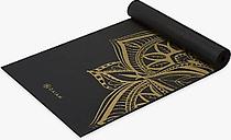 Gaiam Performance Metallic Medallion 6mm Yoga Mat, Bronze Medal