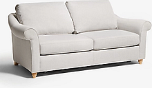 John Lewis & Partners Camber Double Sofa Bed, Light Leg