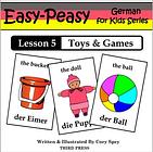 German Lesson 5: Toys & Games