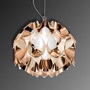 Miedziana lampa wisząca FLORA, 36 cm