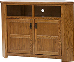 """Eagle Tall Mission TV Console, 57"""" Wide, Unfinished"""