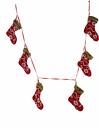 Renaissance 2000 Stocking Garland, Red