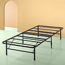 Zinus Shawn 14 Inch Metal SmartBase Bed Frame / Platform Bed Frame / No Box Spring Needed / Sturdy Steel Frame / Underbed Storage, Twin XL