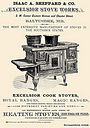 "Buyenlarge Isaac A. Sheppard & Co. Excelsior Stove Works Gallery Wrapped Canvas Print, 12"" x 18"""