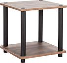 Argos Home New Verona Side Table - Dark Wood Effect
