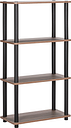 Argos Home New Verona 3 Shelf Bookcase - Dark Wood Effect
