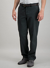 Men's Sage Green Straight Leg Belted Chino With Stretch