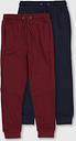 Navy & Burgundy Joggers 2 Pack - Tu Clothing by Sainsbury's