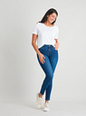 Women's Mid Wash Denim Skinny Jeans