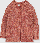 Pink Open Front Twist Knit Cardigan - Tu Clothing by Sainsbury's