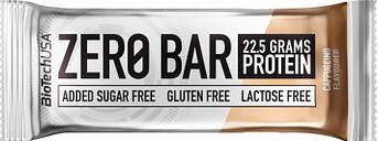 Barrita de proteina biotechusa zero bar 50g cafe capuchino