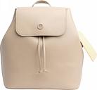 Warm Sand & Silver Metallic Charming Backpack