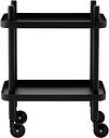 Normann Copenhagen Block table trolley, all black