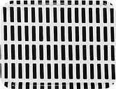 Artek Siena tray, 43 x 33 cm, white - black