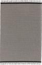 Woodnotes River rug, graphite - light sand