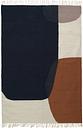 Ferm Living Kelim rug, Merge, 140 x 200 cm